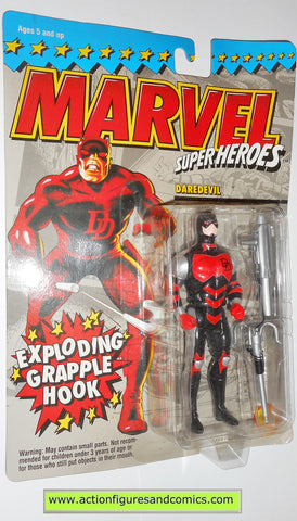 marvel super heroes toy biz DAREDEVIL 1994 black armor universe moc 000