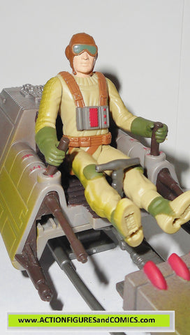 star wars action figures BIKER SCOUT concept speeder bike expanded universe