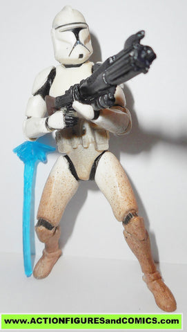 star wars action figures CLONE TROOPER sneak preview saga aotc 2002