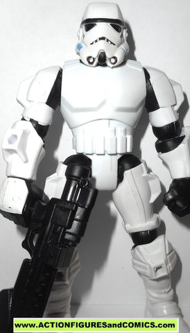 STAR WARS Hero Mashers STORMTROOPER return of the jedi 6 inch toy figure