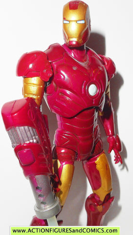 marvel legends IRON MAN repulsor armor 2008 6 inch movie action figures