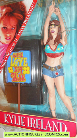 adult superstars KYLIE IRELAND plastic fantasy toys action figures moc
