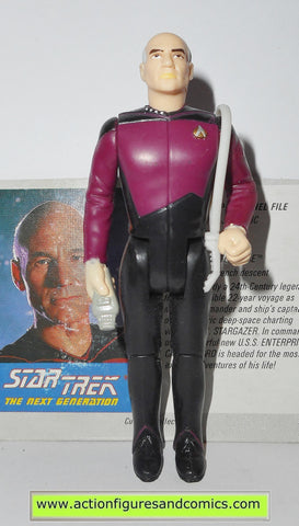 Star Trek CAPTAIN PICARD 1988 galoob toys action figures tng