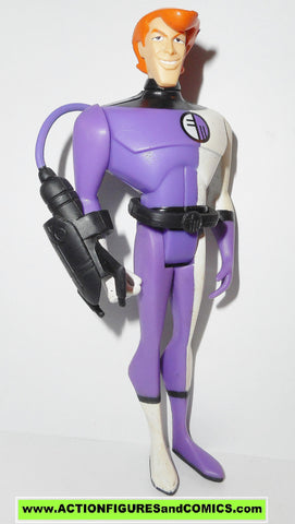 justice league unlimited ELONGATED MAN with WEAPON complete mattel