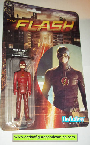 Reaction figures FLASH tv show dc universe funko toys action moc mip mib