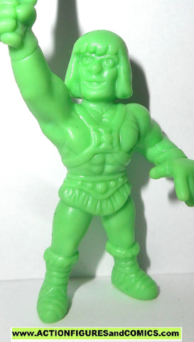 Masters of the Universe HE-MAN I have the power Motuscle muscle motu light green