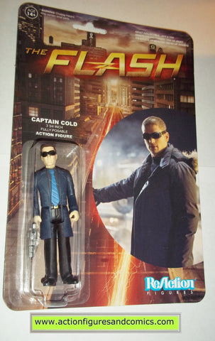 Reaction figures CAPTAIN COLD tv show dc universe funko toys action moc mip mib