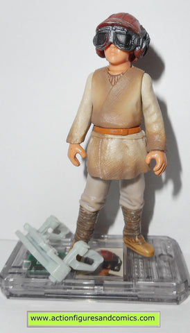 star wars action figures ANAKIN SKYWALKER naboo pilot 1999 episode I 1 complete hasbro toys