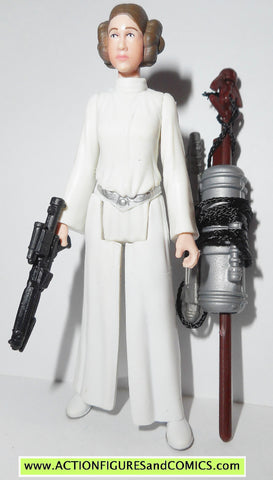 star wars action figures PRINCESS LEIA force awakens new hope carrie fisher