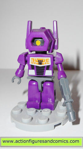 transformers kre-o SHOCKWAVE G1 kreon kreo lego action figures hasbro toys