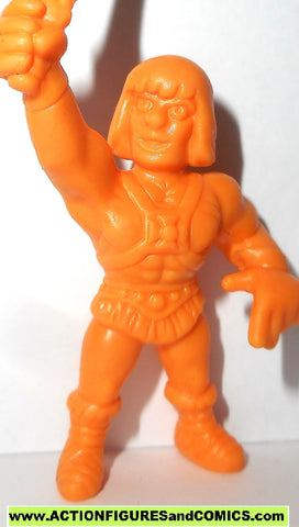 Masters of the Universe HE-MAN I have the power Motuscle muscle motu orange