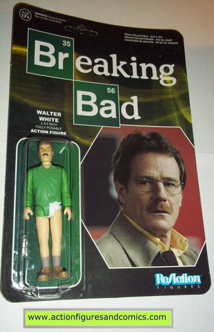 Reaction figures Breaking Bad WALTER WHITE UNDERWEAR funko toys action moc mip mib