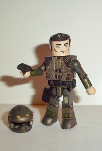 minimates BATTLESTAR GALACTICA CAPTAIN APOLLO art asylum
