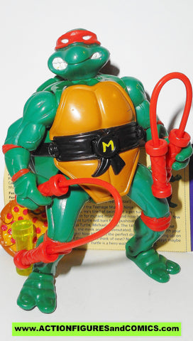 teenage mutant ninja turtles MICHAELANGELO mutations 1992 vintage COMPLETE tmnt CARD