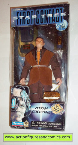 star trek first contact zefram cochrane 9 inch