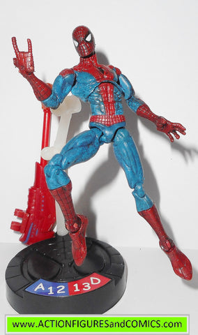 marvel universe SPIDER-MAN red blue suit legends showdown 2005