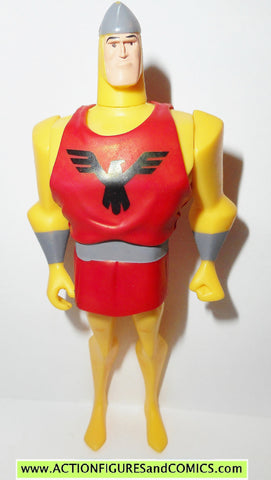 justice league unlimited SHINING KNIGHT mattel animated complete