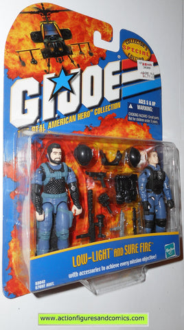 gi joe LOW-LIGHT SURE FIRE 2000 ARAH action figures moc mip mib