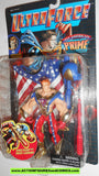 Ultraforce PRIME 1995 ALL AMERICAN chase black chrome card galoob action figures moc mib mip