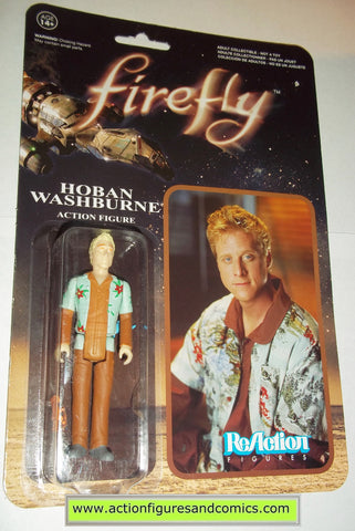 Reaction figures Firefly HOBAN WASHBURNE serenity funko toys action moc mip mib