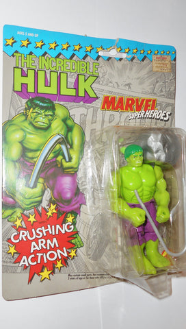 marvel super heroes toy biz HULK 1990 1ST card action figures universe moc 000