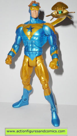 dc universe classics 6 inch BOOSTER GOLD no collar variant complete wave 7 atom smasher series