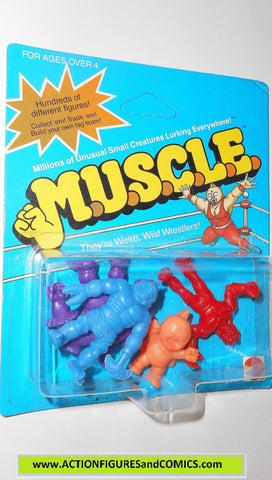 Muscle m.u.s.c.l.e men kinnikuman 4 pack moc MITO MEAT salmon class b