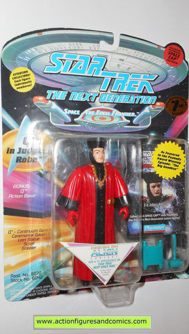 Star Trek Q JUDGES ROBE tng playmates toys action figures moc next generation
