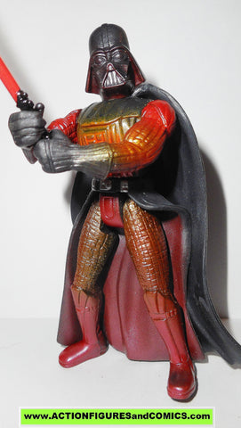 Star Wars Action Figures Darth Vader Lava Reflection Revenge Of The Si Actionfiguresandcomics