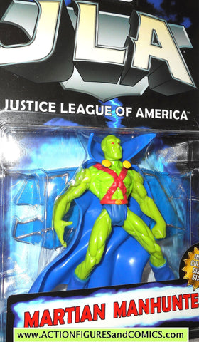 Total Justice JLA MARTIAN MANHUNTER 1998 1999 league of america dc universe moc