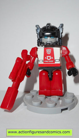 transformers kre-o RED ALERT G1 kreon kreo lego action figures hasbro toys