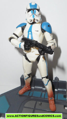 star wars action figures CLONE TROOPER TACTICAL OPS blue 501st vader legion