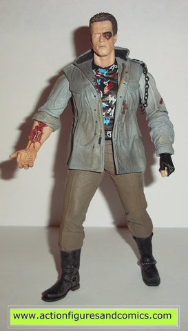 Terminator Neca T-800 BATTLE DAMAGED TECH NOIR action figures toys #2101