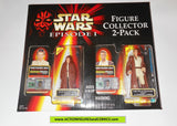 star wars action figures 2 PACK ANAKIN SKYWALKER OBI WAN KENOBI episode I 1999