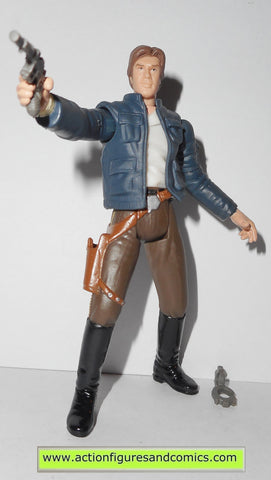 star wars action figures HAN SOLO BESPIN CAPTURE power of the jedi