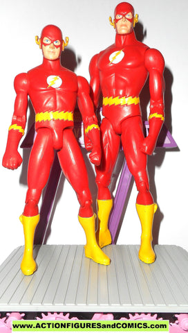 dc direct FLASH KID FLASH silver age Barry Allen Wally West COSMIC TREADMILL collectibles