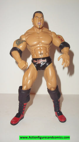 Wrestling WWE action figures BATISTA Kb toys exclusive deluxe aggression jakks