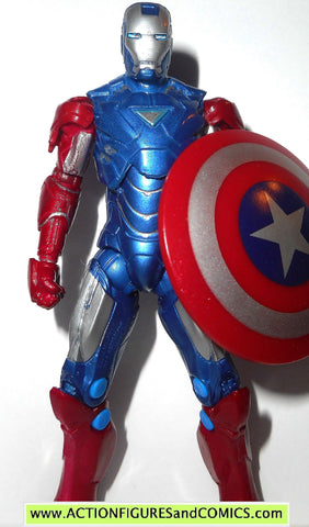 marvel universe IRON MAN Captain america vibranium armor kmart movie 2