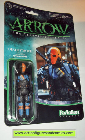 Reaction figures Arrow DEATHSTROKE tv show green dc universe funko toys action moc mip mib