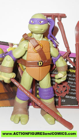 teenage mutant ninja turtles DONATELLO 2012 eyes Nickelodeon playmates toys tmnt