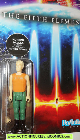 Reaction figures THE FIFTH ELEMENT movie KORBEN DALLAS bruce willis funko moc