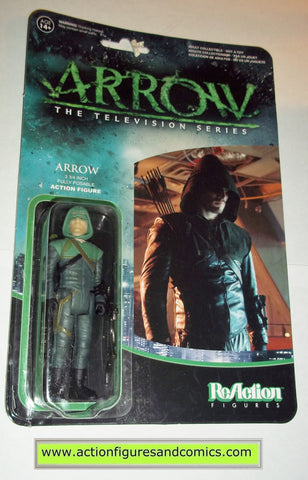 Reaction figures Arrow tv show green dc universe funko toys action moc mip mib