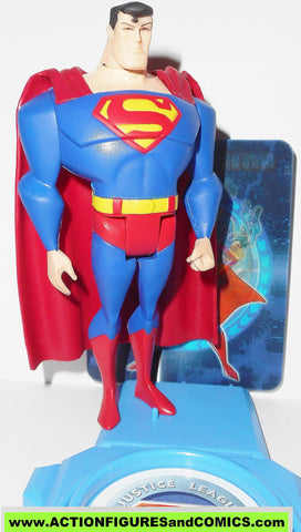 justice league unlimited SUPERMAN stand motion card dc universe jlu jla