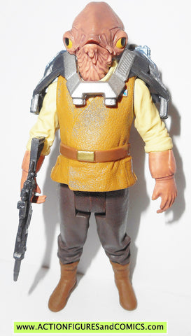 star wars action figures ADMIRAL ACKBAR force awakens 2015