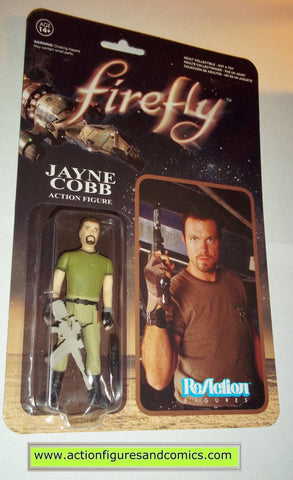 Reaction figures FireflyJAYNE COBB serenity funko toys action moc mip mib