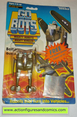 gobots BOLT mr-68 1985 tonka ban dai toys action figures moc mip mib vintage transformers