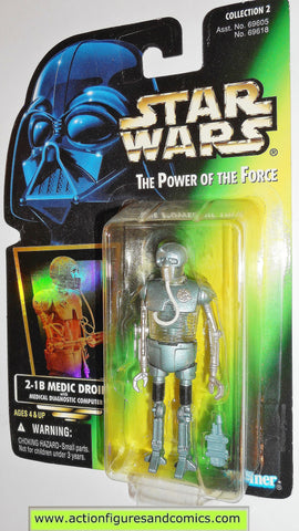 star wars action figures 2-1B medic droid 01 VARIANT bubble power of the force action figure