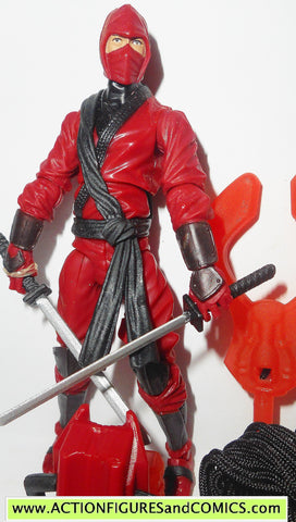 gi joe RED NINJA retaliation movie 2013 complete action figure gijoe