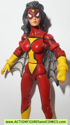 marvel universe SPIDER-WOMAN spider-man 2011 series 3 6 action figure fig