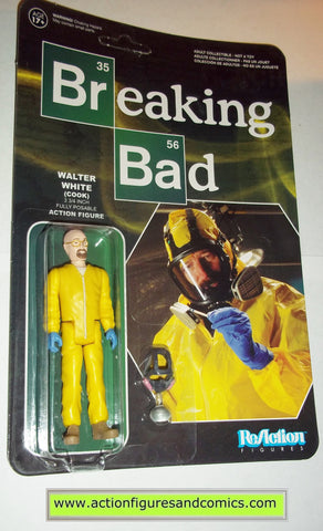 Reaction figures Breaking Bad WALTER WHITE COOK funko toys action moc mip mib